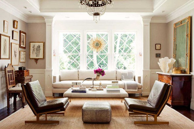 modern transitional interior