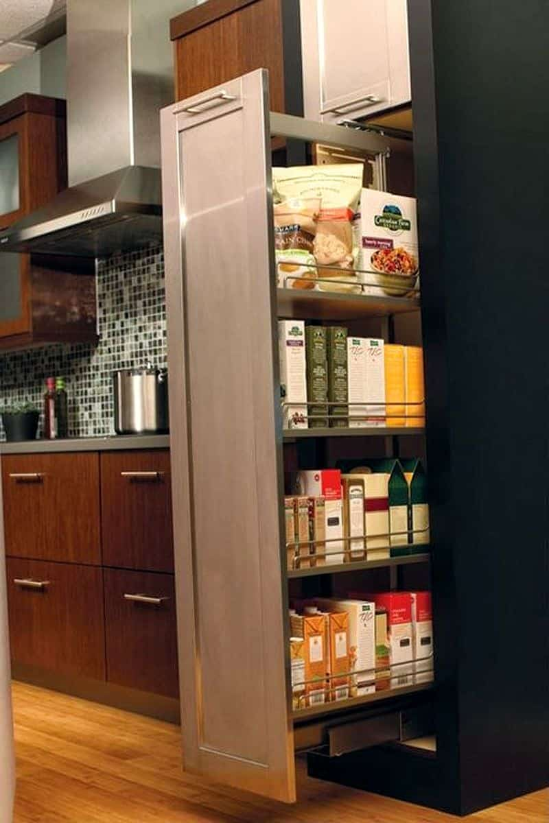 Backsplash For Dark Cabinets And Light Countertops 27 Kitchen Storage Ideas To Keep Your Kitchen Organized