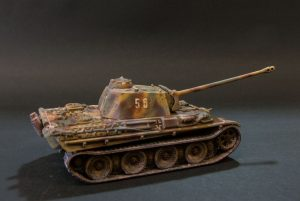 German Panther tank type G-5