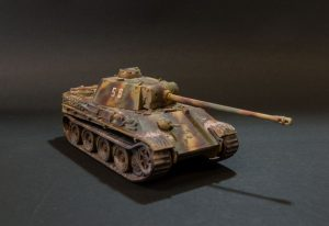 German Panther tank type G-1