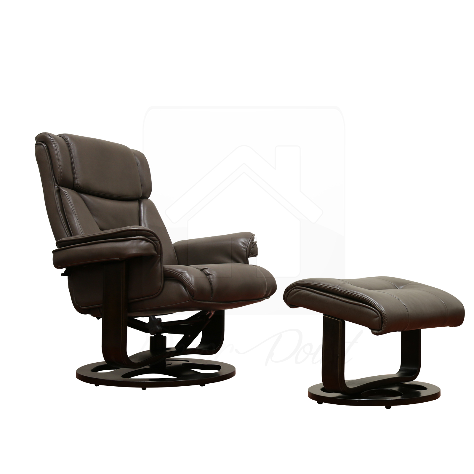 leather swivel recliner chair and ottoman glider rocker monash air camel 360 degree living room