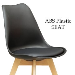 Small Plastic Chair Swivel Shower With Back And Arms City Dining Table 43 4 X Replica Eames Sisly Abs