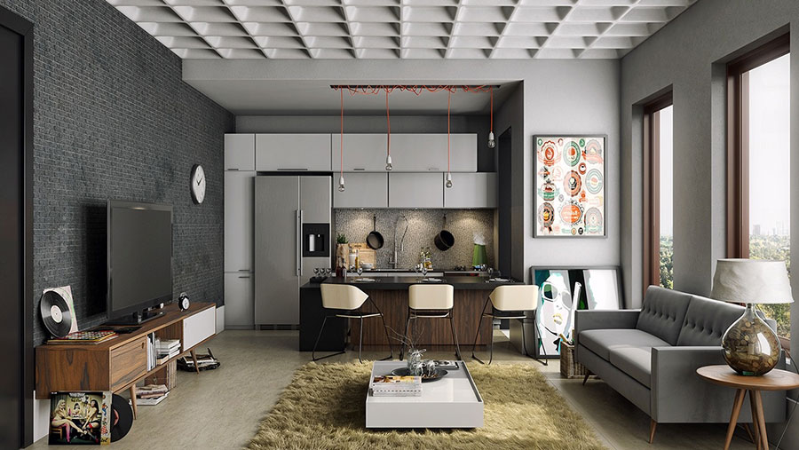 Partire dalla forma della stanza aiuta a. How To Furnish An Open Space Of 20 30 Sqm Decor Scan The New Way Of Thinking About Your Home And Interior Design
