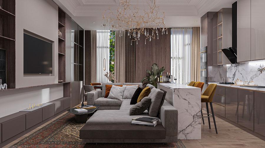 Rispetto al disegno io attualmente ho la. How To Furnish An Open Space Of 20 30 Sqm Decor Scan The New Way Of Thinking About Your Home And Interior Design