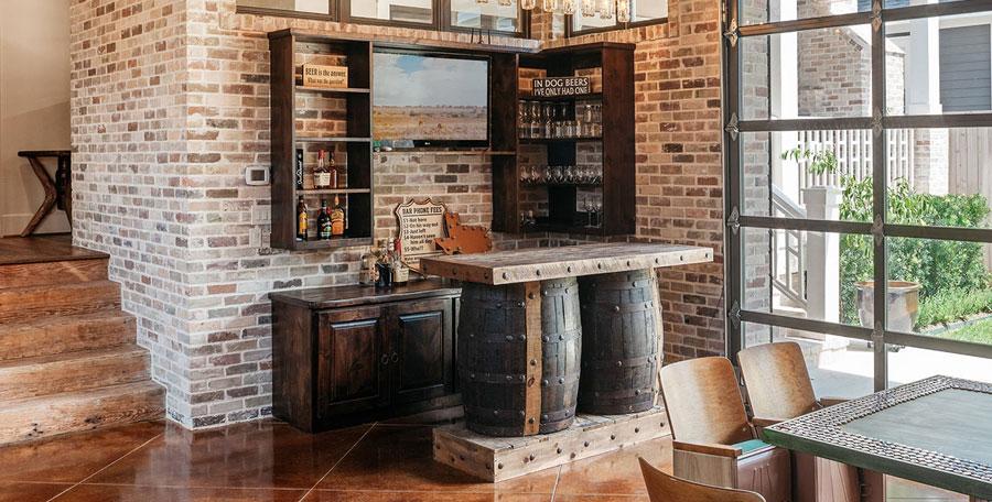 Che ve ne pare di creare un angolo bar nel vostro soggiorno? 20 Ideas For A Rustic Bar Corner At Home Decor Scan The New Way Of Thinking About Your Home And Interior Design