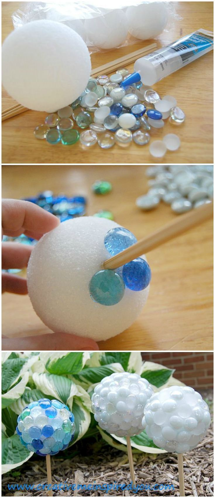 ideas to decorate living room cheap best decor hacks : create beautiful garden gazing stones from ...