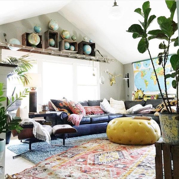 Home Decorating Diy Projects  Quirky, Colorful Living