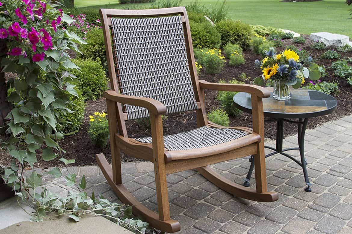 Resin Wicker Rocking Chair How To Choose Your Outdoor Rocking Chairs 24 Tips And Ideas