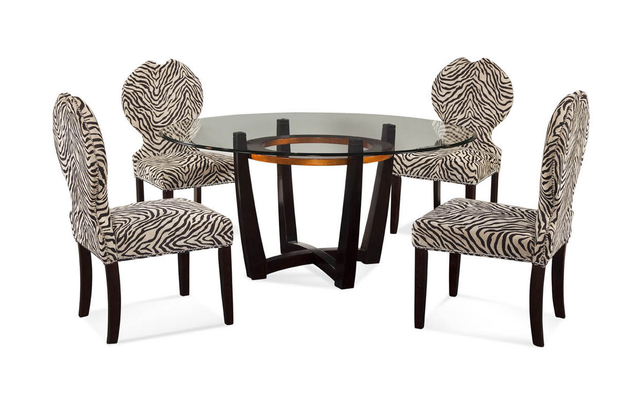 Animal Print Dining Chairs Amazing Zebra Chair Portraits Djenne Homes 65291