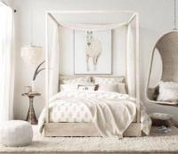 70 Incridibel Minimalist Elegant White Themed Bedroom Ideas
