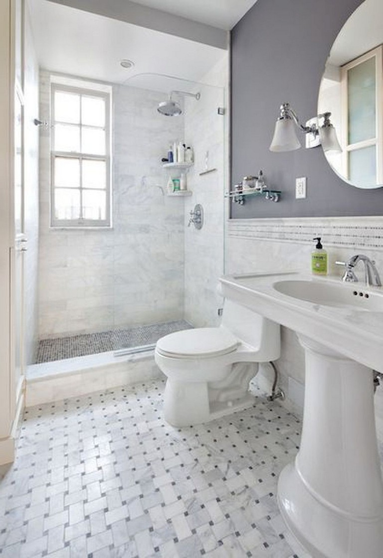 41+ Cool Small Studio Apartment Bathroom Remodel Ideas   Page 43 of 43
