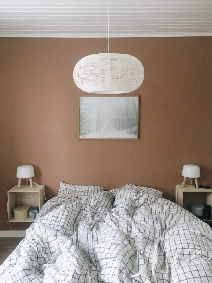 Indretning af soveværelse med farver