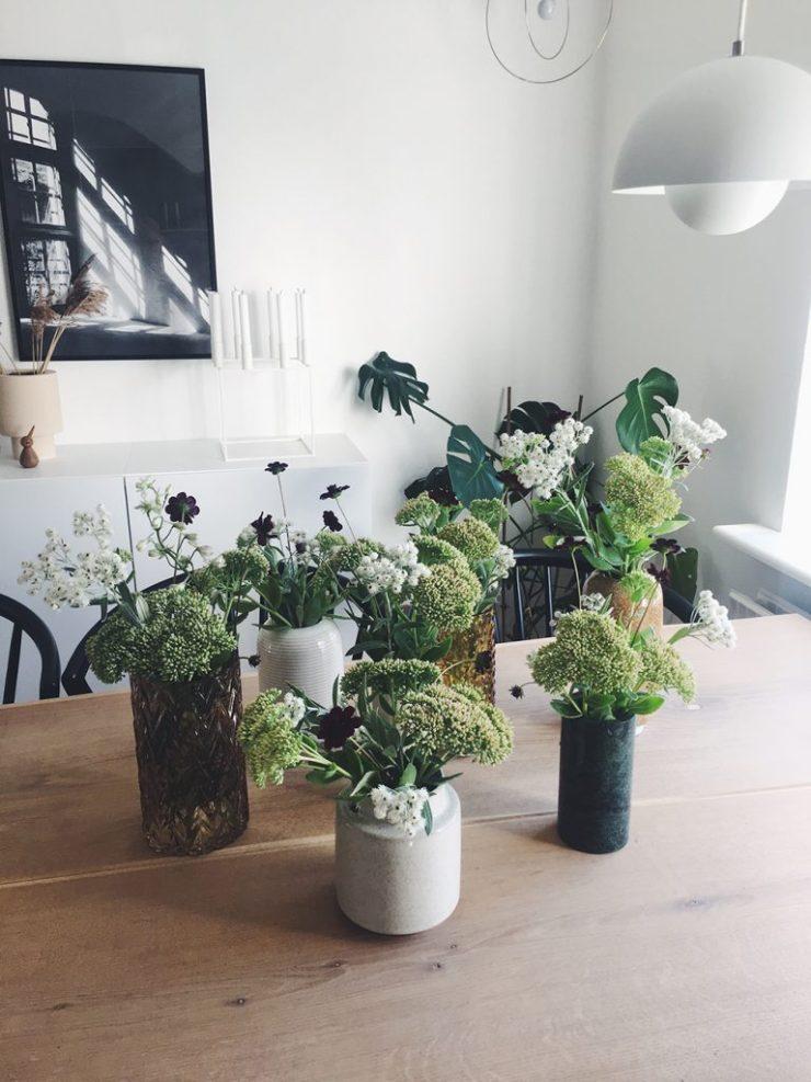 Blomster til sommerfest på budget