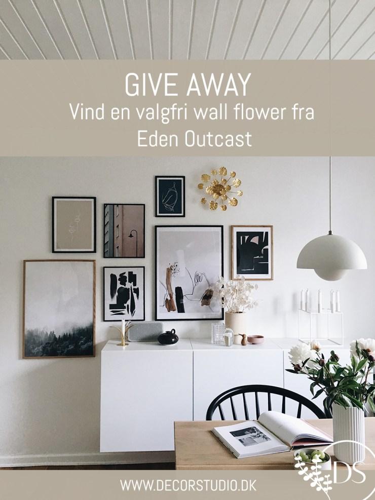 Give away vind en valgfri wall flower fra Eden Outcast