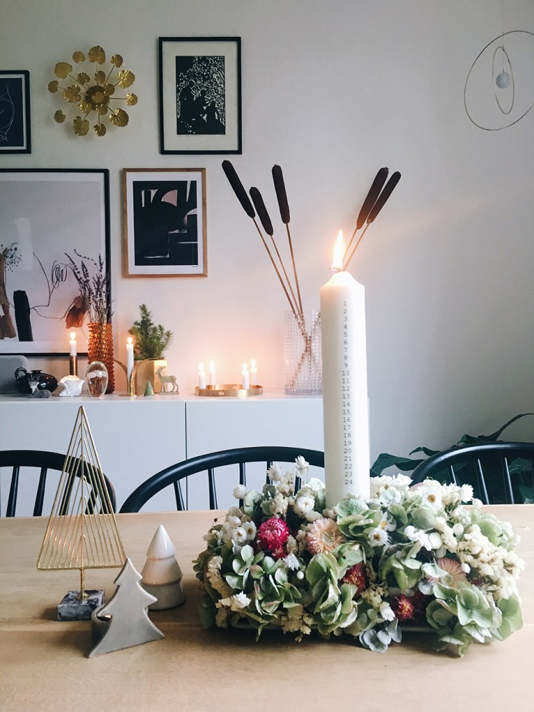 DIY guide kalenderlys dekoration
