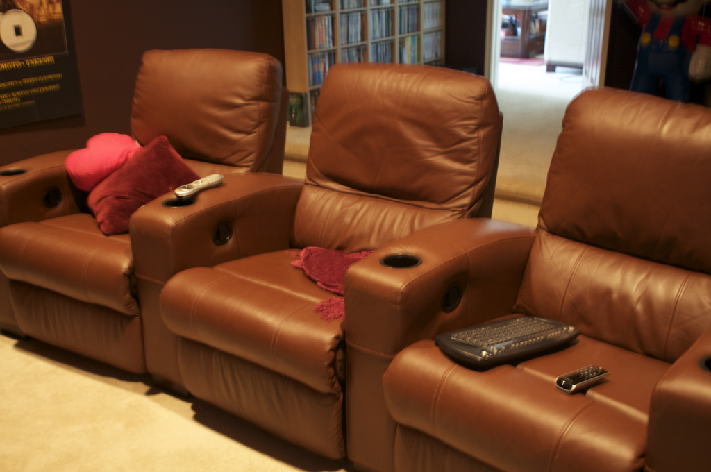 stylish office chairs kartell ghost chair tips for buying the perfect home theater seating setup - decor talk blog