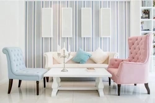 """Per stanze poco luminose è preferibile scegliere toni chiari che aumentano la luminosità grazie a un fenomeno fisico chiamato """"riflessione"""". 5 Consigli Per Scegliere Il Colore Delle Pareti Per La Vostra Casa Decor Tips"""