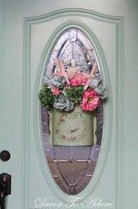 Front Door Valentine Dcor - Decor to Adore