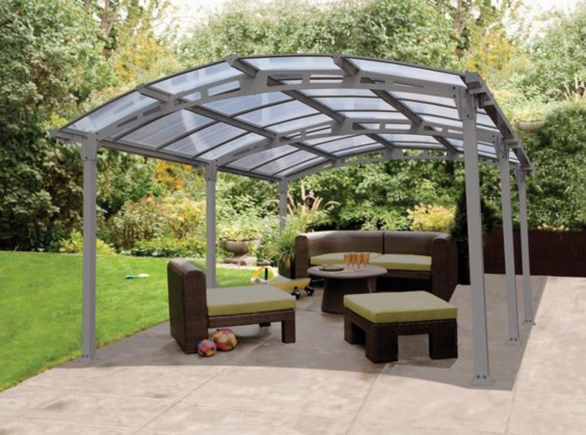 patio roof ideas for double charm of