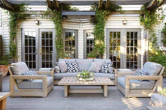 patio furniture ideas for cozy outdoor