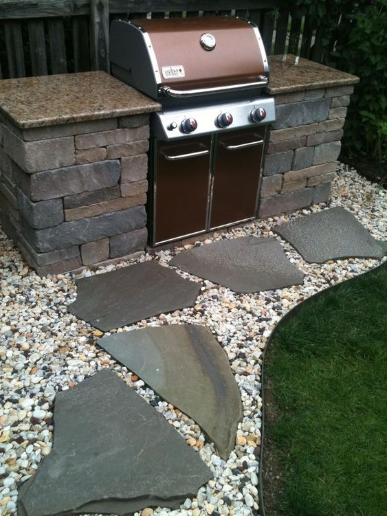 backyard grill ideas to improve and