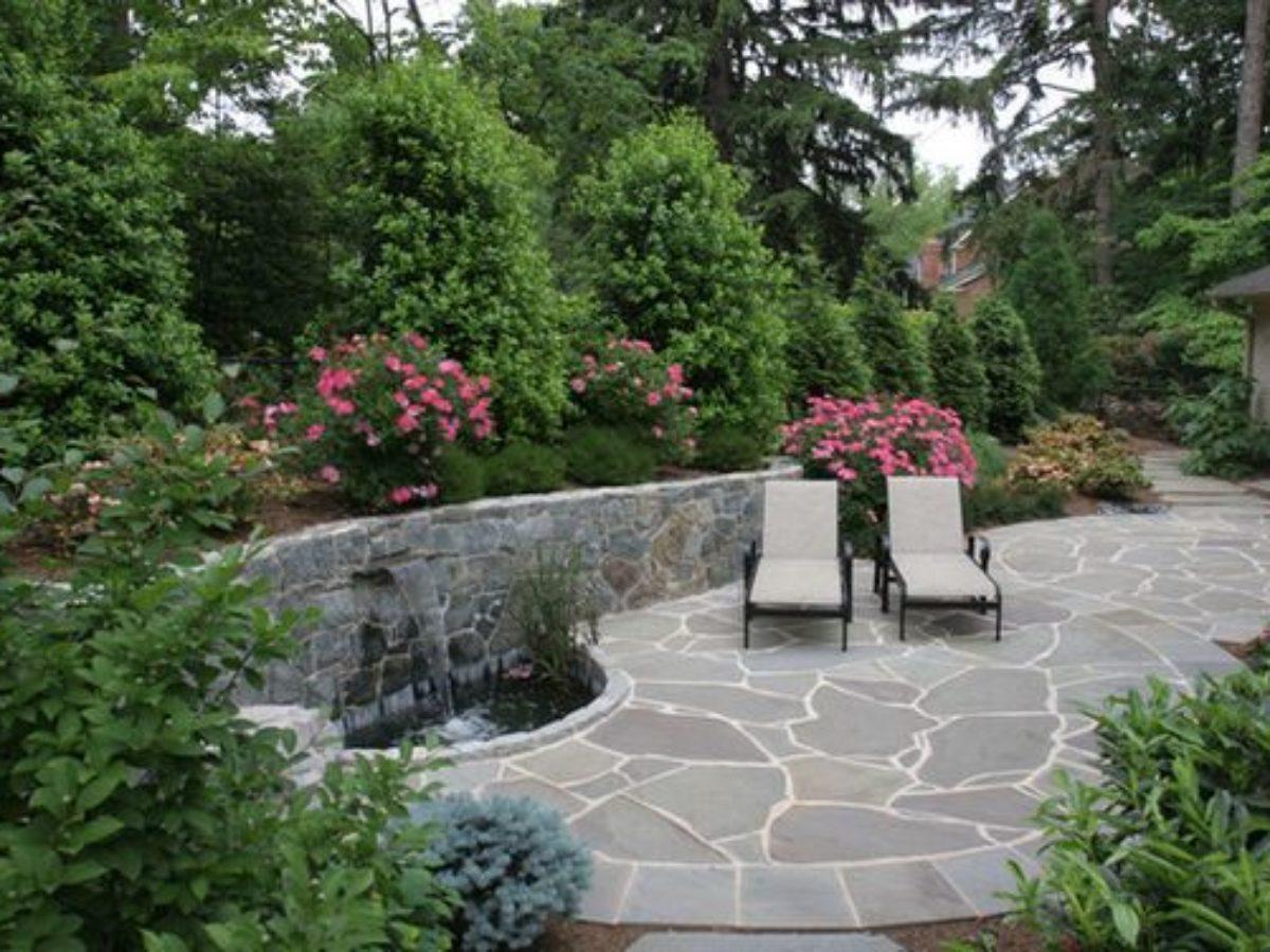 attractive flagstone patio ideas you