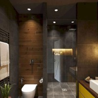 +42 Amazing Black Modern Bathroom Interior Design Answered 1
