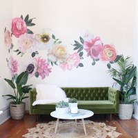 42 What You Don't Know About Large Lotus Flower Living Room Decoration Vinyl Wall Stickers 34