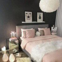 55+ Most Popular Ways to Room Decor Bedroom Teenage Girl Grey and Pink