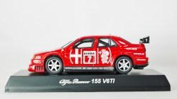 155 V6TI No 7 DEKRA - Red