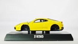 1-64 Kyosho Ferrari Minicar Col 2 - F430 2005 - YLW - 01