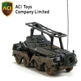 MT6065 GERMAN 8-Wheeled Heavy Armored Car Sd.Kfz.232 with Crew (Gray) - 04