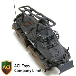 MT6065 GERMAN 8-Wheeled Heavy Armored Car Sd.Kfz.232 with Crew (Gray) - 05