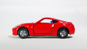 Tomica Assembly Factory Series 3 Elasto NISSAN Fairlady Z Z34 - RED Body & BLE Inter - 01