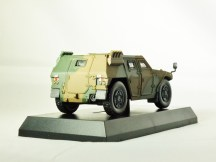 1-64 Kyosho MILITARY VEHICLE Minicar Collection - LIGHT ARMOURED VEHICLE LAV Camouflage Green - 6