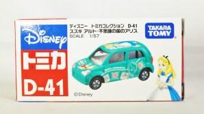 Disney Tomica Collection D-41 SUZUKI ALTO Alice in Wonderland - Green - 07