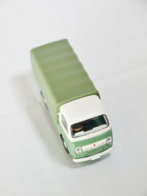 TOMICA LIMITED VINTAGE NEO TOMYTEC - LV-N111b NISSAN CABALL 1900 - DRK GRN & GRY - 03