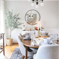 MY MODERN & ORGANIC HOLIDAY TABLESCAPE