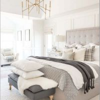 30+ Choosing Good Dreamy Master Bedroom Ideas And Designs With Braided Rugs 60
