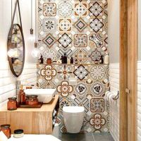 45 Beautiful Rustic Aesthetic Farmhouse Master Bathroom Remodel Ideas 5