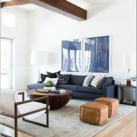 18 Spectacular White And Blue Living Room Ideas For Modern Home 3