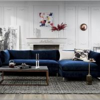 18 Spectacular White And Blue Living Room Ideas For Modern Home 4