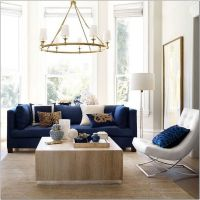 18 Spectacular White And Blue Living Room Ideas For Modern Home 5