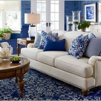 18 Spectacular White and Blue Living Room Ideas For Modern Home