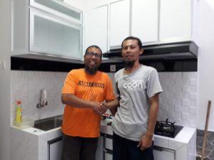 kitchen acp putih