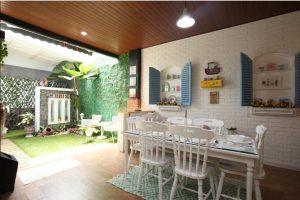 interior dapur rumah & taman