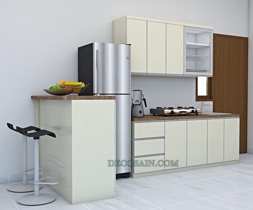 keunggulan Kitchen Set Aluminium