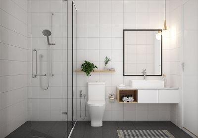 model kamar mandi minimalis