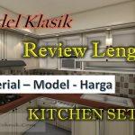 Model Kitchen Set PVC
