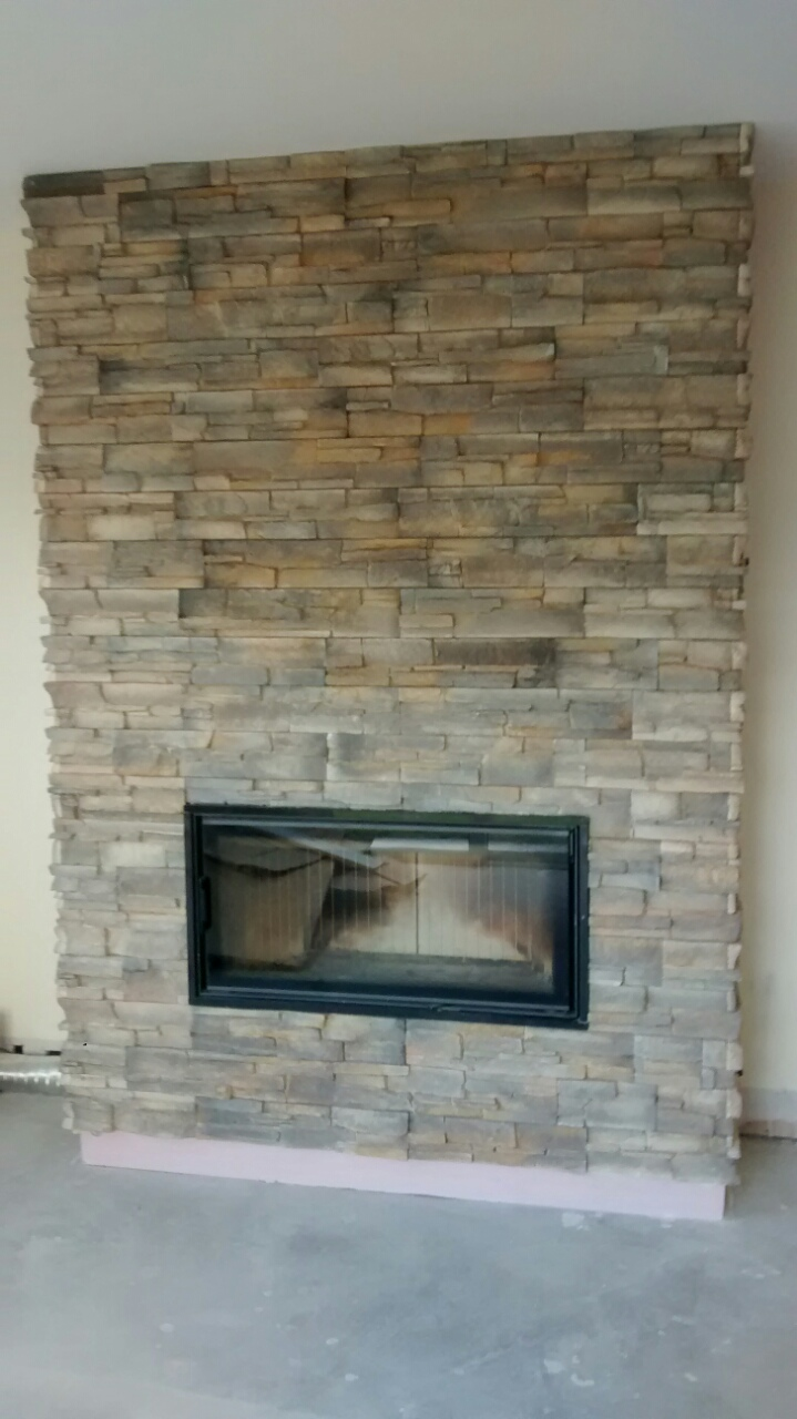 Grenada Russet  Stone Wall Cladding for Interior and Exterior Use  Deco Stones